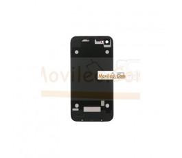 Carcasa trasera, tapa de batería zebra negro con rojo para iPhone 4 - Imagen 2