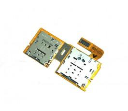 Flex lector sim y microSD...