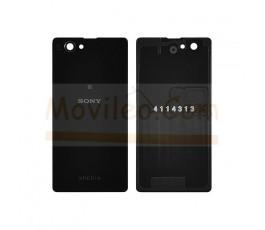 Tapa Trasera Negra Sony Xperia Z1 Compact M51W D5503 Z1C - Imagen 1