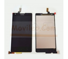 Pantalla Completa para Huawei Ascend G700 Negra - Imagen 1