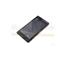 Pantalla completa táctil lcd y marco Sony Xperia M2 Negro - Imagen 1