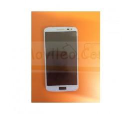 Pantalla Completa Blanca Con Marco para LG G2 Mini D620 - Imagen 1