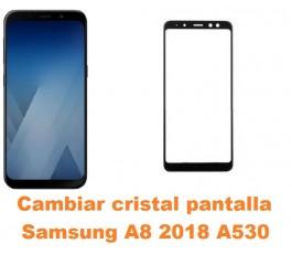 Cambiar cristal Samsung A8...