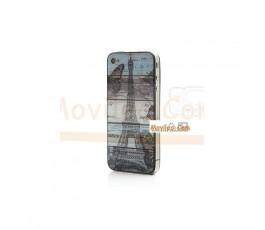 Carcasa trasera, tapa de batería torre Eiffel para iPhone 4 - Imagen 3