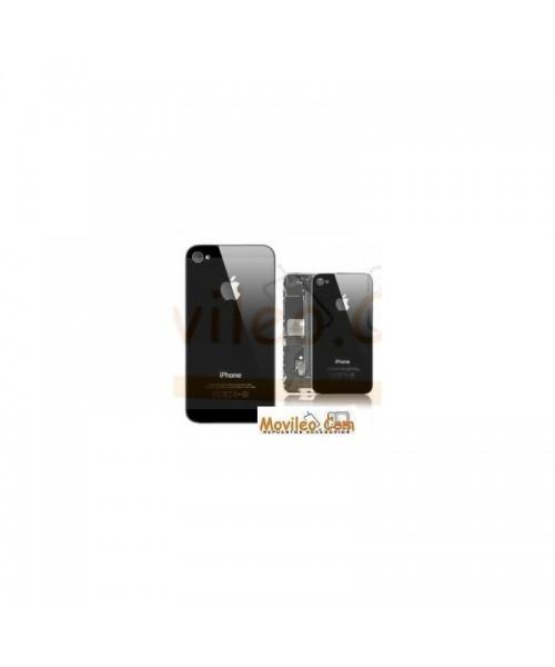 Carcasa trasera  tapa de batería negra para iPhone 4g - Imagen 1