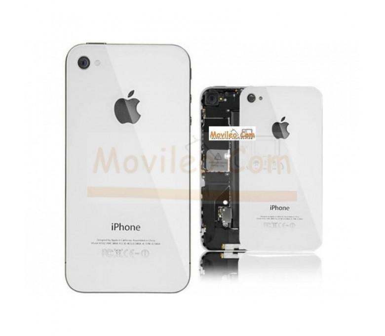 Carcasa trasera tapa de batería blanca para iPhone 4g - Imagen 1