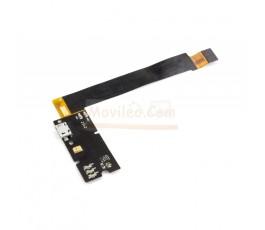 Flex Conector Carga y Micrófono de Desmontaje para Aquaris Bq E4.5 - Imagen 1