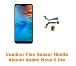 Cambiar Flex Sensor Huella...