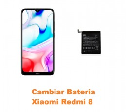 Cambiar Batería Xiaomi Redmi 8