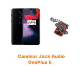 Cambiar Jack Audio OnePlus 6