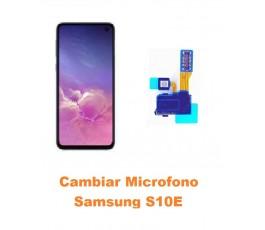 Cambiar Micrófono Samsung S10E