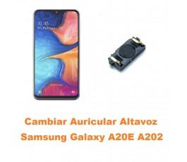 Cambiar Auricular Altavoz...