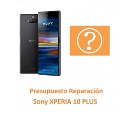 Presupuesto Reparación Sony...