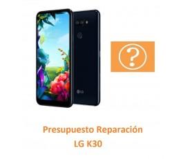 Presupuesto Reparación LG K30