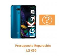 Presupuesto Reparación LG K50
