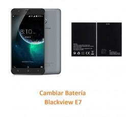 Cambiar Batería Blackview E7