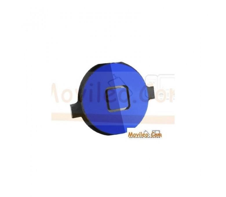 Botón de menú home azul para iPhone 4S - Imagen 1