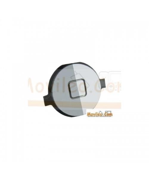 Botón de menú home plata para iPhone 4S - Imagen 1