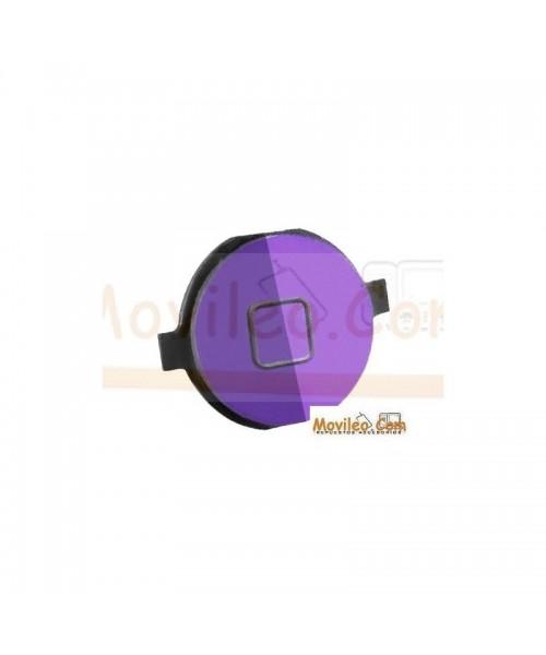 Botón de menú home morado para iPhone 4S - Imagen 1