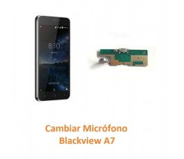 Cambiar Micrófono Blackview A7