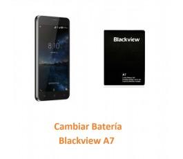 Cambiar Batería Blackview A7