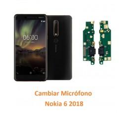 Cambiar Micrófono Nokia 6 2018