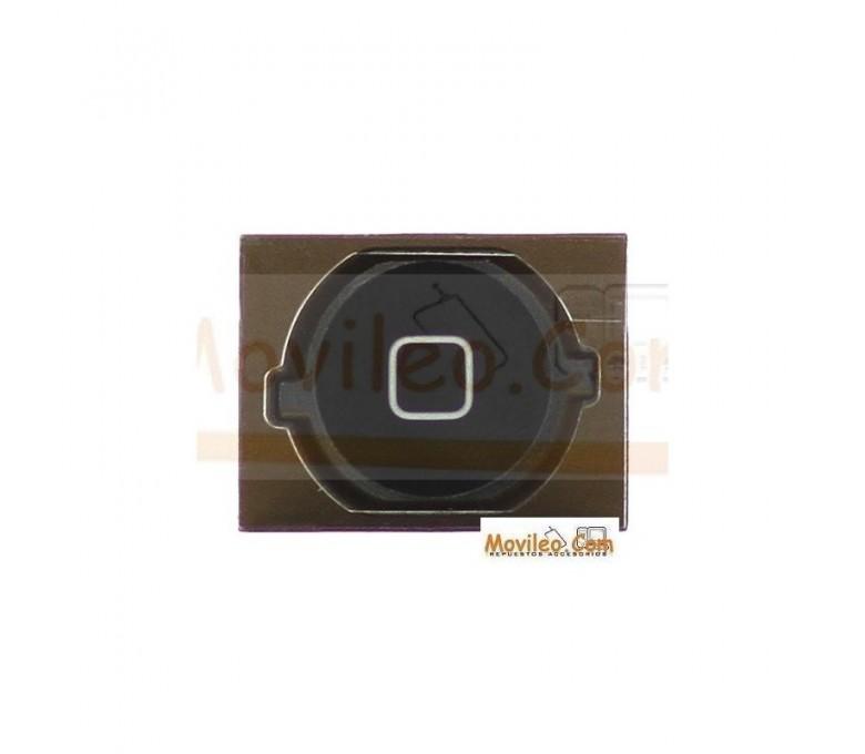 Botón de menú home completo negro para iPhone 4S - Imagen 1