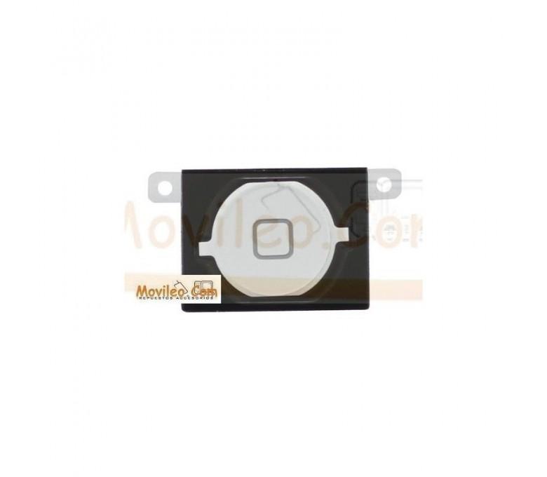 Botón de menú home completo blanco para iPhone 4S - Imagen 1