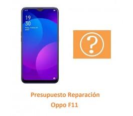 Presupuesto Reparación Oppo...