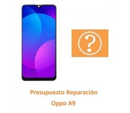 Presupuesto Reparación Oppo A9