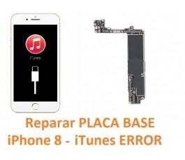 Reparar placa base iPhone 8...