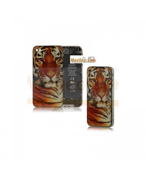 Carcasa trasera tapa de batería modelo tigre 2 para iPhone 4s - Imagen 1