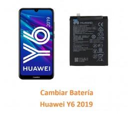 Cambiar Batería Huawei Y6 2019