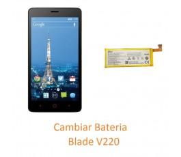 Cambiar Batería ZTE Blade V220