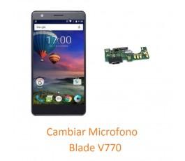 Cambiar Micrófono ZTE V770...