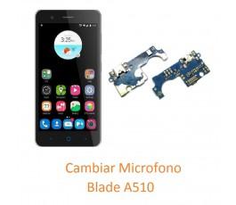Cambiar Micrófono ZTE A510...