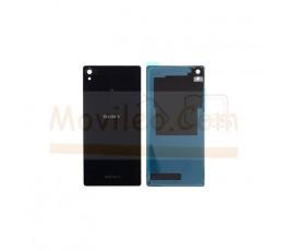 Carcasa Tapa Trasera Negra para Sony Xperia Z3 L55T D6603 D6643 D6653