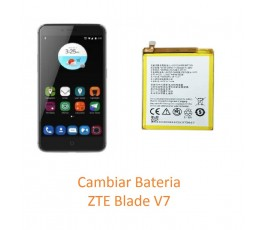 Cambiar Batería ZTE Blade V7