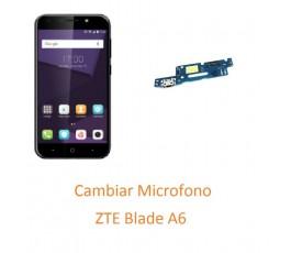 Cambiar Microfono ZTE Blade A6