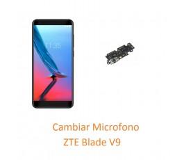 Cambiar Microfono ZTE Blade V9