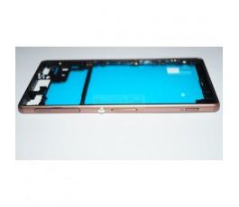 Carcasa Marco Dorado para Sony Xperia Z3 L55T D6603 D6643 D6653 - Imagen 1