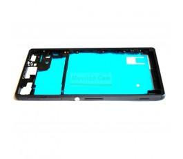 Carcasa Marco Negro para Sony Xperia Z3 L55T D6603 D6643 D6653 - Imagen 1