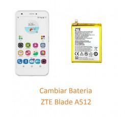 Cambiar Bateria ZTE Blade A512