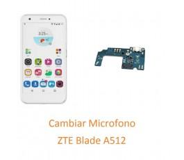 Cambiar Microfono ZTE Blade...