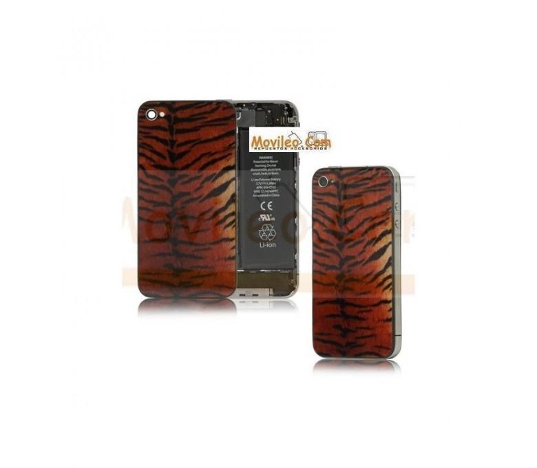 Carcasa trasera tapa de batería modelo tigre 3 para iPhone 4s - Imagen 1