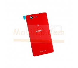 Tapa Trasera Roja para Sony Xperia Z3 Compact D5803 D5833 - Imagen 1