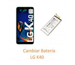 Cambiar Bateria LG K40