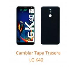 Cambiar Tapa Trasera LG K40