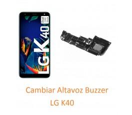 Cambiar Altavoz Buzzer LG K40