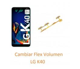 Cambiar Flex Volumen LG K40